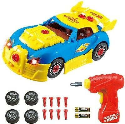 Think Gizmos Take Apart Toy Racing Car Construction Toy Kit for Boys and Girls