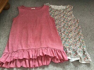 next girls sleevless tops age 14 years excellent condition pink and floral
