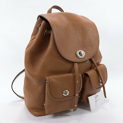 COACH Backpack · Daypack 35303 leather Women