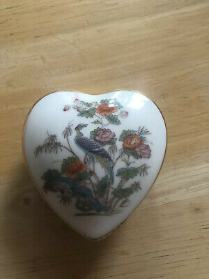 "Wedgewood Heart with ""For The Tooth Fairy"" Inscription"