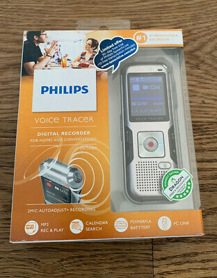 Philips DVT4000 Voice Tracer Digital Recorder, good used condition