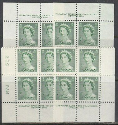 Canada Scott 326 MS Pl #6 MNH - 1953 Karsh Issue