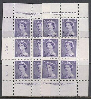 Canada Scott 328 MS Pl #1 MNH - 1953 Karsh Issue