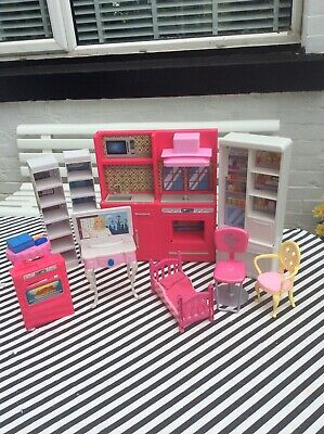 Selection Of Barbie Doll Furniture
