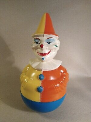 Stehaufmännchen Clown Rolly Toys West germany