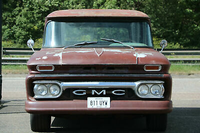 American Classic 1961 Chevy GMC Apache Panel Van V8 Auto Air Ride Awesome Patina