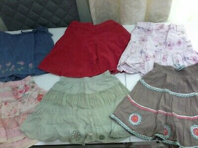 Bundle of girls cute skirts ages 3 to 5