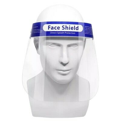 10 PCS Safety Face Shield Anti-Splash Reusable Washable Protection Cover
