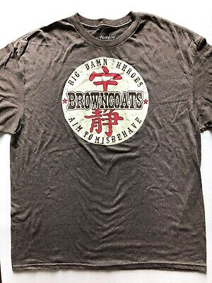 Firefly Browncoats Big Damn Heroes Aim to Misbehave Ripple Junction XL T-Shirt