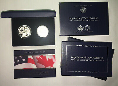 2019 Pride of Two Nations - Two Coin Set - LIMITED EDITION - FREE SHIPPING!