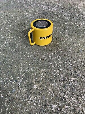 """Enerpac Rcs 1002 Hydraulic Cylinder 100 Ton 2.25"""" Stroke, Low Height"""