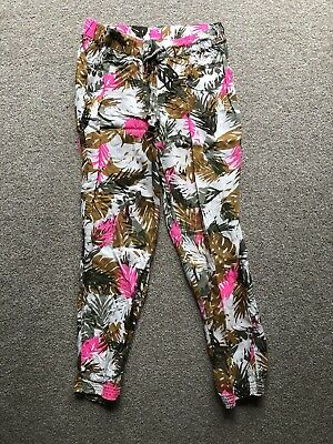 United Colors Of Benetton Lightweight Summer Trousers Age 10-11 XL