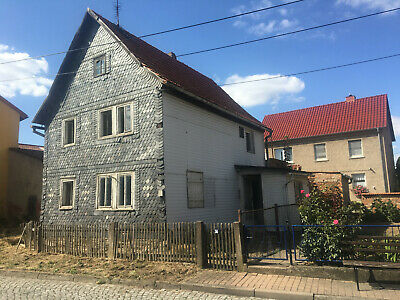 Villa with land and buildings in central Germany excellent investment 3305 sq ft