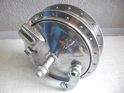 Hercules k125 MC, K175 GS Radnabe 140mm mit Super orginal politur, DKW, Sachs