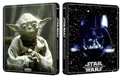 steelbook blu-ray 2D+4K de Star Wars Episode V