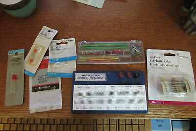 Archer Breadboard 276-169 with accessories and parts open package