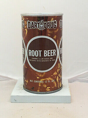 Early Dart Drug Root Beer Soda Can - tougher generation to find!