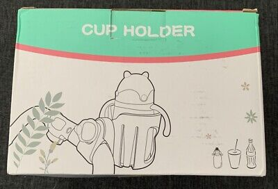 Stroller Drink Cup Holder Black NIB