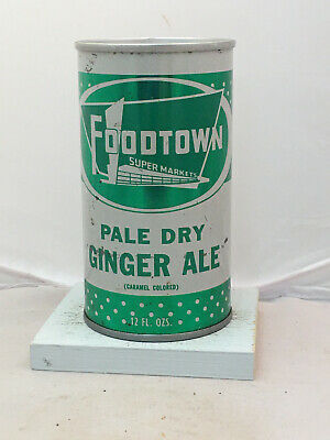 Food Town Ginger Ale Soda Can