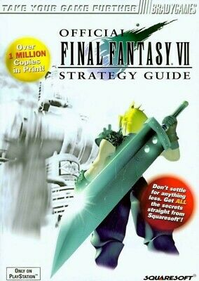 Final Fantasy vii 7 official game guide PDF by Brady Games