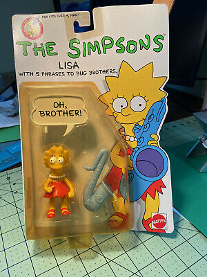 """The Simpsons Lisa """"Oh Brother"""" & Saxaphone  Paypal Only"""