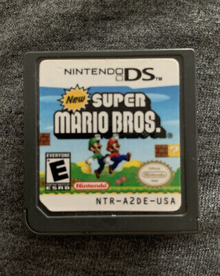 Nintendo DS Super Mario Bros Game (US Version)