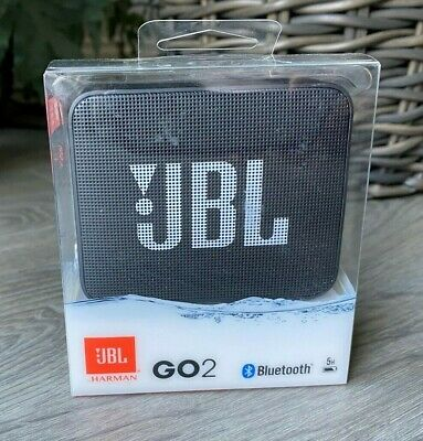JBL GO2 Portable Bluetooth Speaker - Black - BNIB