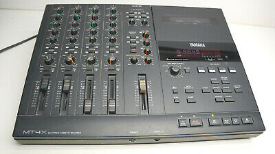 Yamaha MT4X 4 Spur Cassette Recorder Multitrack Dual Speed Analog Pitch Control