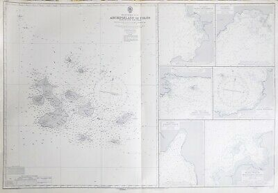 Admiralty Chart of the Galapagos Islands (South Pacific Ocean)