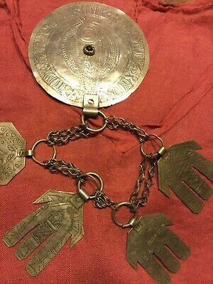 Collier ancien judaica nord Maghreb
