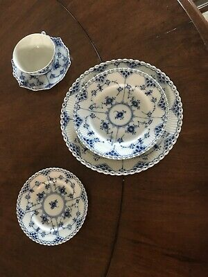 royal copenhagen blue fluted full lace Bread&butter Plate 1st Q