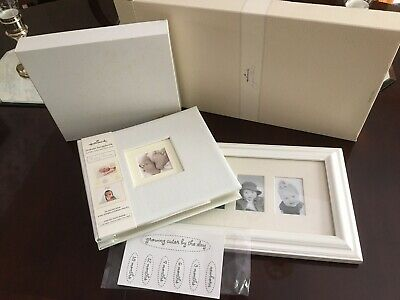 Hallmark BABY Instant Scrapbook Album AND Picture Frame NEW!