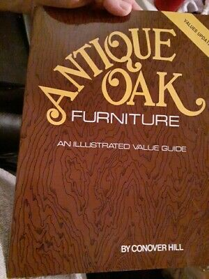 Antique Oak Furniture ILLUSTRATED VALUE GUIDE BOOK FREE SHIPPING