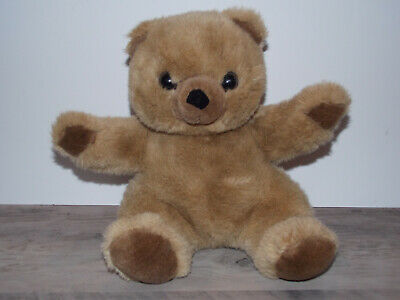 """Dex Heartbeat Brown Teddy Bear for Crib Womb Sounds 12"""""""