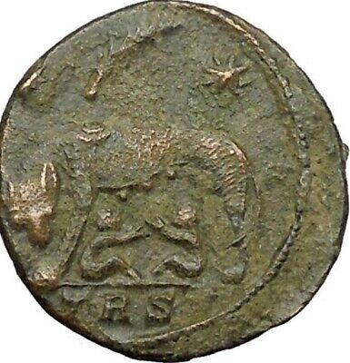 Ancient Roman Coin Romulus And Remus She-Wolf Design, Beautiful Bronze Quality