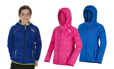 Regatta Dissolver Kids Boys Girls Hooded Hoody Hoodie Fleece Jacket RRP £35