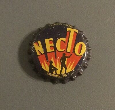 Vintage Necto cork lined soda bottle cap unused Richmond, Virginia