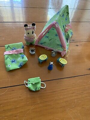 Sylvanian Families - Ingrid's Camping Set (some missing pieces)