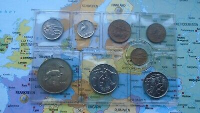 Coinset South Africa 1976