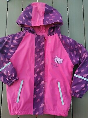 Lupilu Waterproof Jacket Coat 4-6 Years Girls Pink