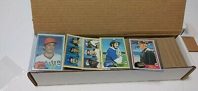1981 Topps Baseball 501-726 You Pick UPick Card From List Lot to Complete Set