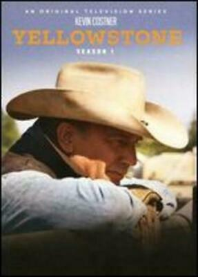 Yellowstone: Season One 1 First (DVD, 2018, 3-Disc Set) NEW Kevin Costner