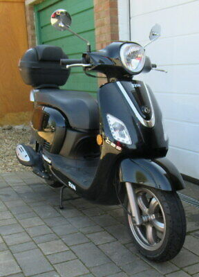 2018 Sym Fiddle 3, 200i Scooter, Only 790 Miles, One Owner.