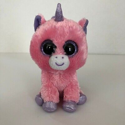 Ty Beanie Boos Magic the Unicorn Pink 6 inches