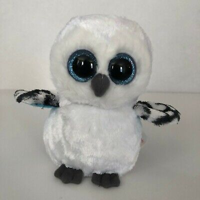 Ty Beanie Boos Spells the Owl White 6 inches
