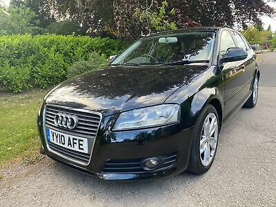 2010 Audi A3 2.0 TDI Sport 5dr S Tronic FULL HISTORY GEARBOX CAMBELT SERVICE. HA