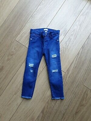 Toddler Girl River Island Jeans 2-3 Years