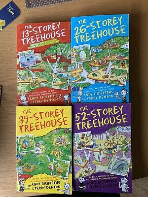 Storey Treehouse Series Books 1-8 By Andy Griffiths And Terry Denton