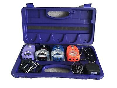 4 Danelectro Pedals In Case
