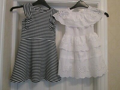 2 Girls Dresses Age 5-6 Years (River Island/Next)